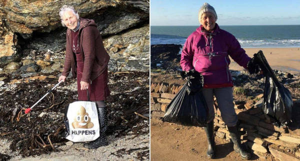 70-Year-Old Pat Smith Cleaned Up 52 Beaches in 2018 To Save Our Planet - 4