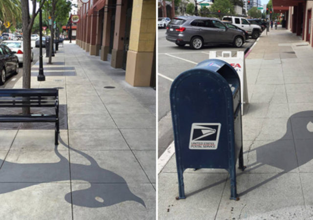 Creative Street Artist Adds Fake Shadows To Confuse People
