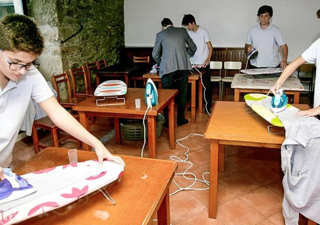 Male Students Are Taught That The Household Chores Are Gender Neutral