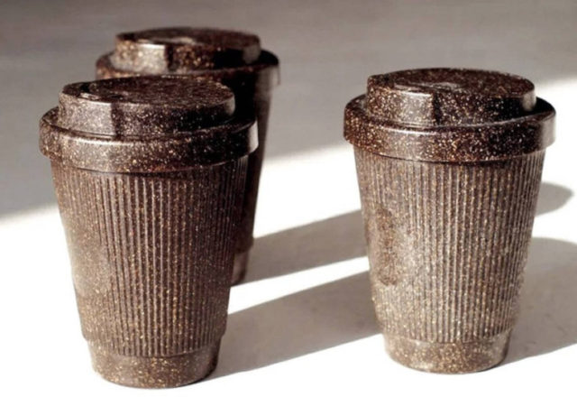 A Berlin Company Is Turning Coffee Grounds Into Recycled Reusable Cups