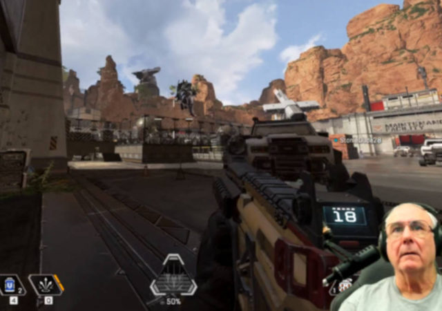 The 60-Year-Old Streamer GrndPaGaming Is Amazing At Apex Legends