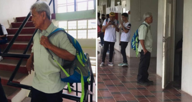 75-Year-Old Grandpa Joins University, Goes Viral As Freshman PolSci Student