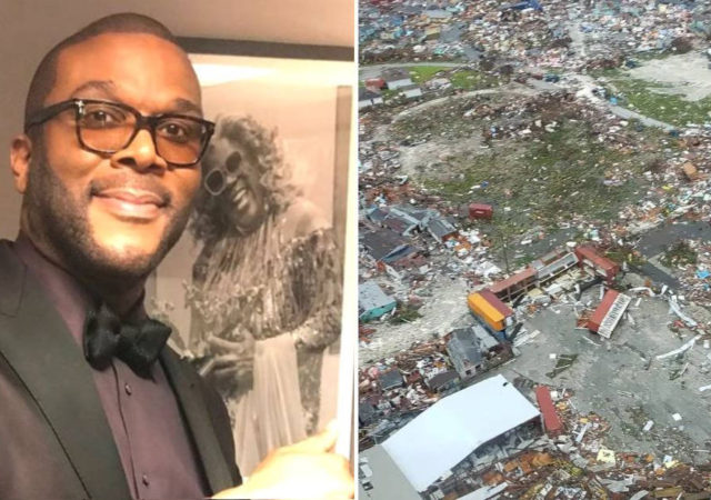 Tyler Perry Sends Supplies And Aid With His Personal Plane To The Bahamas