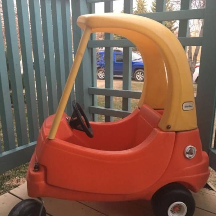 Grown Up Version Of The Cozy Coupe Is Legal And It Goes Up To 70MPH - 2
