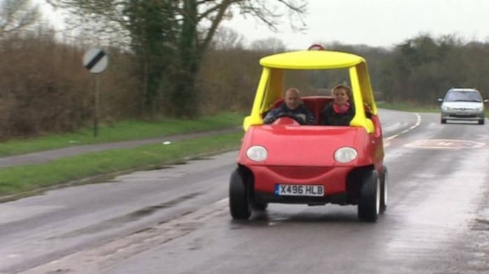 Grown Up Version Of The Cozy Coupe Is Legal And It Goes Up To 70MPH - 4
