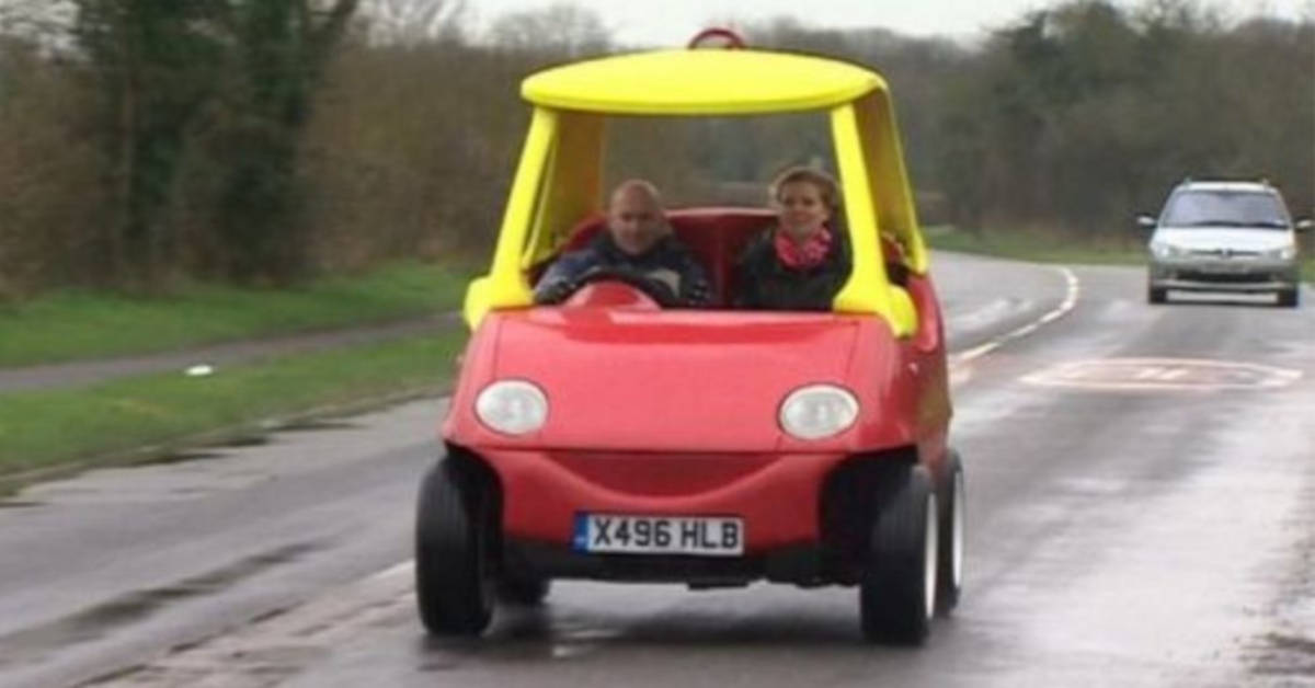 Grown Up Version Of The Cozy Coupe Is Legal And It Goes Up To 70MPH