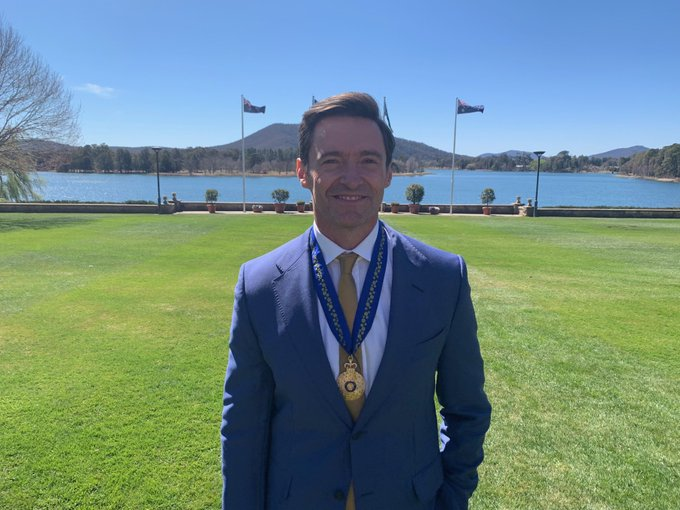 Hugh Jackman Recieved A Medal Of The Order Of Australia For Humanitarian Efforts - 1