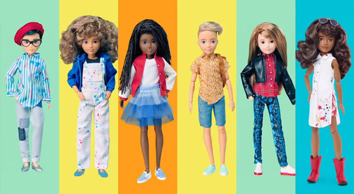 Mattel Introduces New Gender-Neutral Barbie Collection To Encourage Diversity - 10
