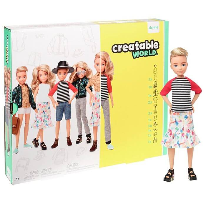 Mattel Introduces New Gender-Neutral Barbie Collection To Encourage Diversity - 15