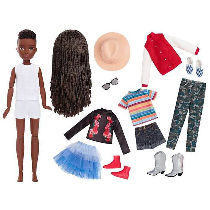 Mattel Introduces New Gender-Neutral Barbie Collection To Encourage Diversity - 9