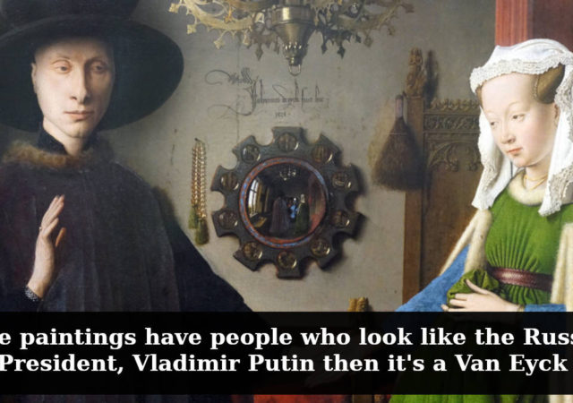 A Parody Guide On How To Recognize Paintings Of Famous Painters