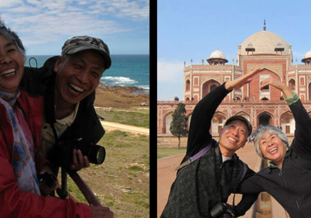 Adorable Senior Couple Who Backpacked To 40 Countries, Fall In Love All Over Again