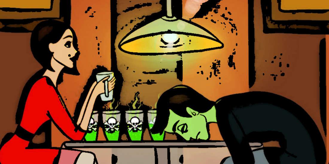 Bilmece: Zehirli içecekler