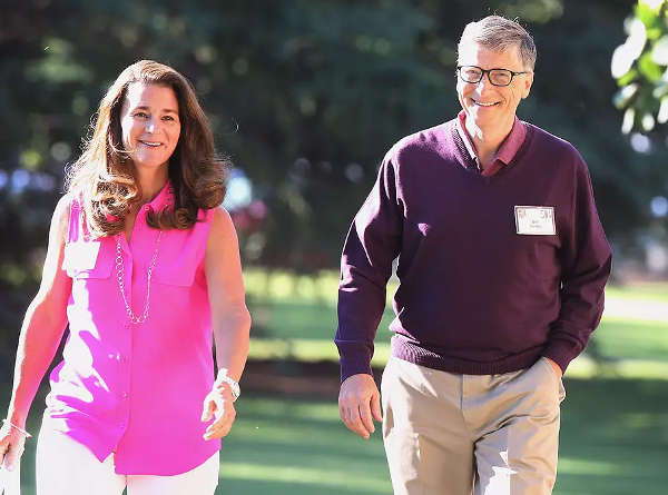 Bill and Melinda Gates 25 years married