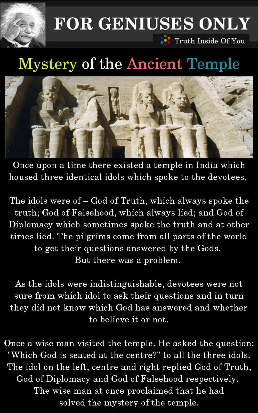 Mystery of the Ancient Temple